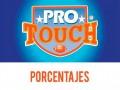Porcentajes ProTouch del concurso 756 – Partidos del Domingo 20 al Lunes 21 de Septiembre del 2020